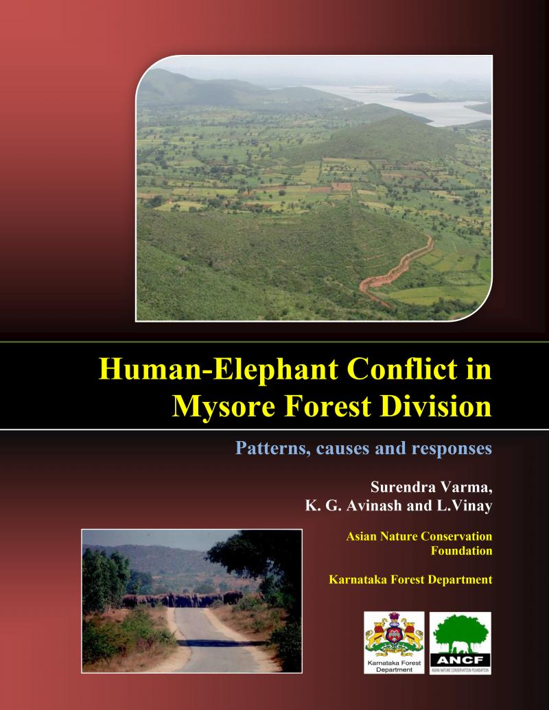 Human-Elephant Conflict in Mysore Forest Division